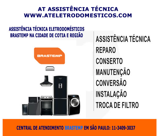 Assistência técnica Brastemp Cotia