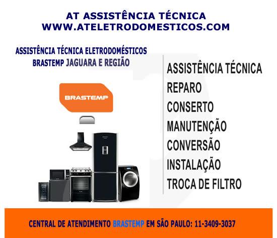 Assistência técnica Brastemp Jaguara