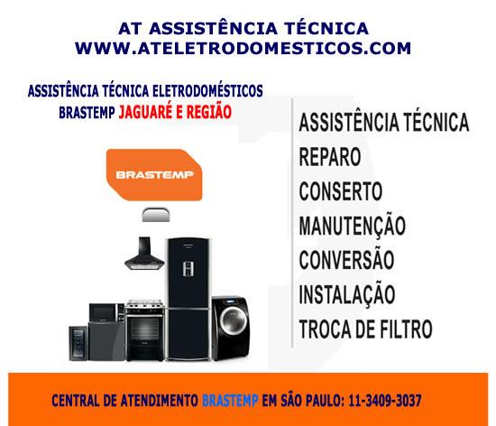 Assistência técnica Brastemp Jaguaré