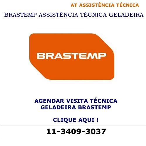Agendar visita técnica geladeira Brastemp