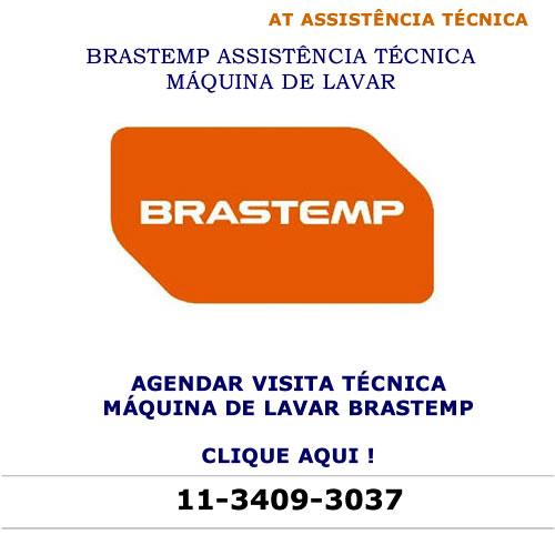 Agendar visita técnica máquina de lavar Brastemp