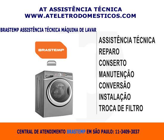 Brastemp assistência técnica máquina de lavar