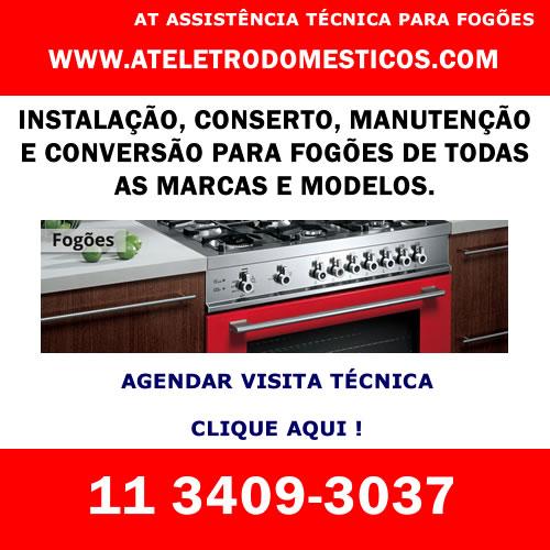 Agendar visita técnica fogão em São Paulo