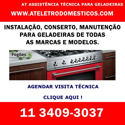 Agendar visita técnica geladeira em São Paulo