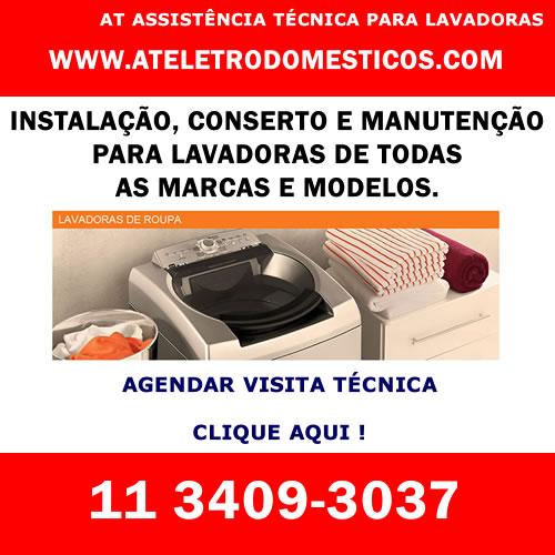 Agendar visita técnica lavadora em São Paulo
