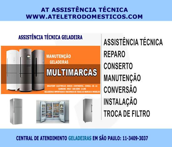 Assistência técnica geladeira em São Paulo