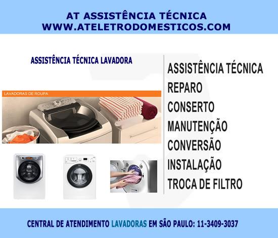 Assistência técnica lavadora em São Paulo