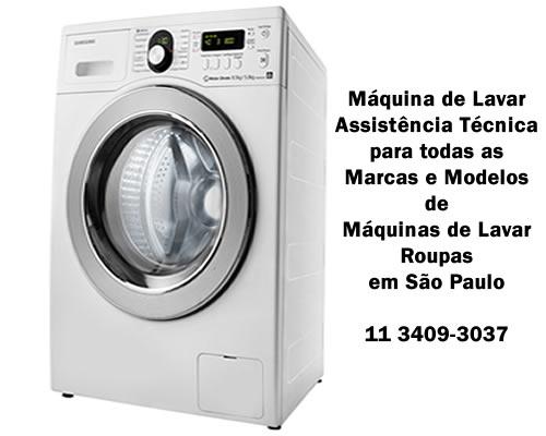 Máquina de lavar assistência técnica