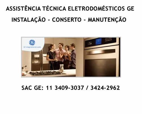 Assistência técnica eletrodomésticos Ge
