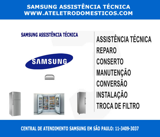 Samsung assistência técnica