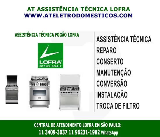 Assistência técnica fogão Lofra