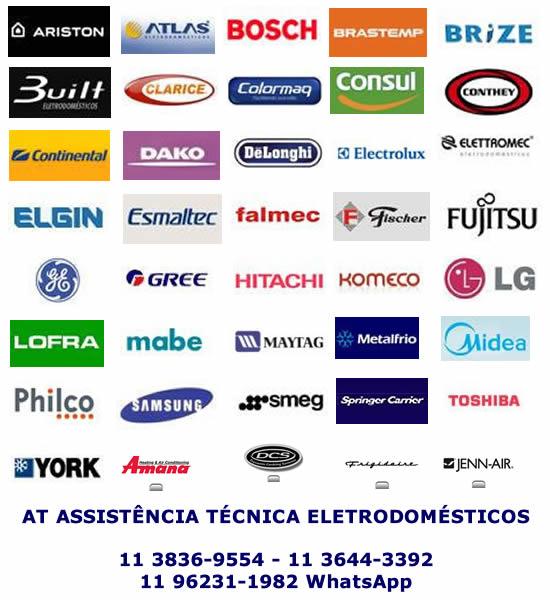 Marcas eletrodomésticos assistência