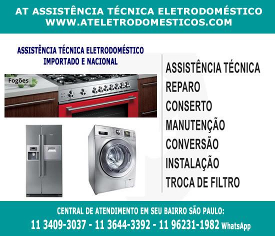 assistencia tecnica de eletrodomesticos em sao paulo